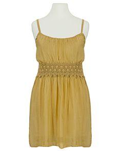 Damen Seidentop mit Spitze, senf von Diana   meinkleidchen Damenmode aus Italien Diana, Shirts, Summer Dresses, Tops, Fashion, Mustard, Sequins, Lace, Italy