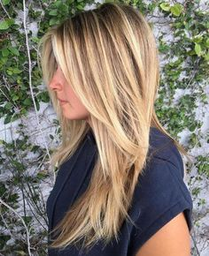 27 Amazing Hairstyles for Long Thin Hair (Must-See Haircuts for Fine Hair) – Hair Styles 27 Erstaunliche Frisuren für langes Classy Hairstyles, Amazing Hairstyles, Long Blonde Hairstyles, Medium Hairstyles, Layered Bangs Hairstyles, Pretty Hairstyles, Teen Hairstyles, Formal Hairstyles, Celebrity Hairstyles