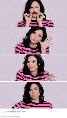 Lana Parrilla. 2014. Bless your face