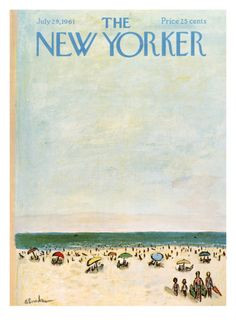 The New Yorker Cover - July 29, 1961