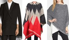 How to wear a poncho or cape this season | 40plusstyle.com