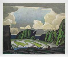 Casson Canadian group of seven Group Of Seven Artists, Group Of Seven Paintings, Landscape Drawings, Landscape Art, Landscape Paintings, Landscapes, Emily Carr, Canadian Painters, Canadian Artists