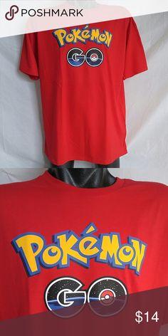 Tee Shirt Tee Shirt, Pokemon, 100% Cotton Shirts Tees - Short Sleeve