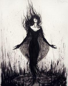 Conjuring by Heylenne.deviantart.com on @DeviantArt