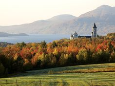 Take a road trip through the apple orchards, maple sugar shacks, and pristine villages of the Eastern Townships, one of Canada's 50 Places of a Lifetime.