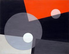 László Moholy-Nagy, Am 7 (26), 1926: palette and shapes