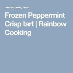 Frozen Peppermint Crisp tart | Rainbow Cooking