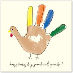 Gobble Fingers - Happy Thanksgiving Greeting Cards from Treat.com