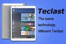 Teclast X80H Dual OS Android 4.4+Win 8.1 Tablet PC 2GB/32GB Intel Z3735F Quad Core 1.83GHz 8 Inch IPS 1280x800 HDMI WiFi Bluetooth - White + Gray