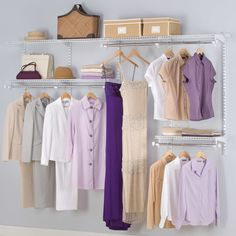 "Found it at Wayfair - Configurations 96"" Wide Closet System"