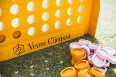 Veuve Clicquot Polo Classic with Trina Turk and Mr. Veuve Clicquot Champagne, Veuve Cliquot, Classic Bar, Polo Classic, 30th Birthday Parties, 20th Birthday, Corporate Event Design, Orange Creamsicle, Wine Brands