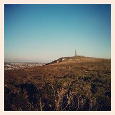 basset monument top of carn brea cornwall