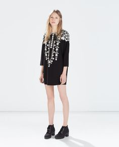 ZARA - COLLECTION SS15 - EMBROIDERED TUNIC