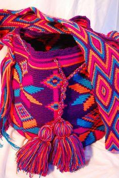 bolsos diferentes wayuu - Buscar con Google
