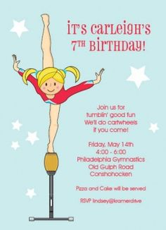 Balance Beam Invitation