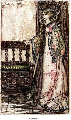 Cordelia--King Lear--Arthur Rackham