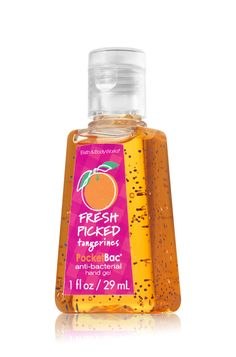 Fresh Picked Tangerines PocketBac® Sanitizing Hand Gel - Anti-Bacterial - Bath & Body Works