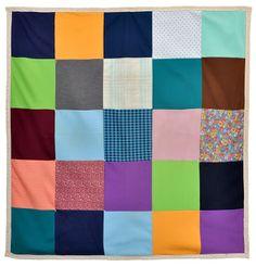 Wonkyworld: Polyester Patchwork Crib Quilt