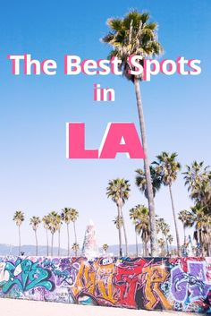 Don't get caught up in the touristy crowd. Check out these secretly amazing spots in Los Angeles, CA. #travel