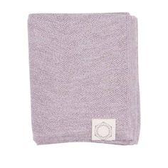 Aperie - Alpaka-Babydecke Clio, alt rosa