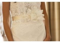 Wedding Dress Lace Belt