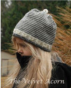 KNITTING PATTERN-The Snowlynn Hat (Toddler 55bed614284