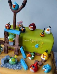 #Angrybirds #cakedesign #marziacaruso