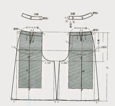 modelist kitapları: cin pants dress patterns making) Clothing Patterns, Dress Patterns, Pants Pattern Free, Pattern Drafting Tutorials, Free Printable Sewing Patterns, Sewing Pants, Modelista, Ladies Boutique, Pattern Making