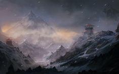 landscapes-snow-forest-cold-fantasy-