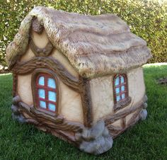 Check out our other PROJECTS @ http://www.facebook.com/MonsterCityStudios Introducing the next pieces in the continuation of our Storybook Style dog houses! These amazing cottages can be used indoor and out. ANNOUNCING OUR INTRODUCTORY OFFER OF $399.00 + tax & shipping! (reg $499.00) *2 lb. density EPS foam. *Hard coated with a protective industrial coating (safe for animals and kids). *Custom hand tooled and artisan painted. *100% waterproof, insulated and ventilated. D...