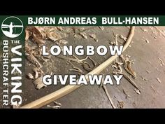 Longbow Giveaway - announcement of one of the 20.000 subs giveaway prizes - YouTube