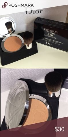 DIOR Brand New Color #002 Amber. Orig price $55.00. Comes with a brush and a duster cover. Dior Makeup Bronzer