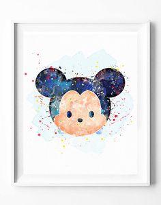 Mickey+Mouse+Print+Disney+Tsum+Tsum+Party+by+DigitalPrintCharlie