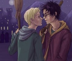 Now kiss! #drarry