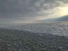 Frozen Baltic Sea at Kemi from a icebreaker, Finland