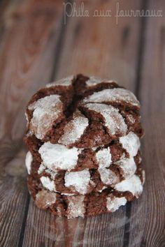 Philo aux fourneaux: Biscuits craquelés au chocolat