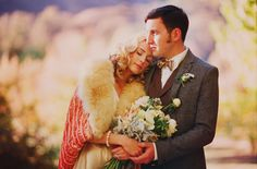 gorgeous vintage wedding with handmade wedding dress