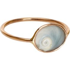 Dezso by Sara Beltran Cornu Thin Ring (€245) ❤ liked on Polyvore featuring jewelry, rings, accessories, fillers, seashell jewelry, handcrafted jewelry, thin rings, band rings and sea shell ring