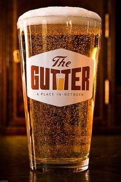 The Gutter beer glass