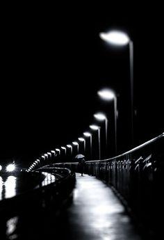 *Rainy Night Walk (by Lirca Lucian)