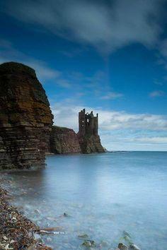 Keiss Castle, Caithness, Scotland.