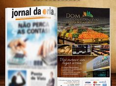Anúncio Jornal da Orla Santos - DOM CONSTANTIN - FIRE Mídia http://firemidia.com.br/dom-constantin-supermercado-em-santos-fire-midia/