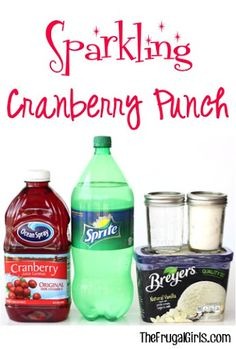 Sparkling Cranberry Party Punch Recipe! Recipe on Yummly. @yummly #recipe