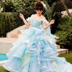 THE HANY【THE HANY2016】ブルーソフィー☆爽やか可愛い華やぎドレス♪ ウエディングドレスを探す ゼクシィ