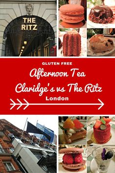Thinking of heading to London on your next vacation and wanting to eat a yummy gluten free afternoon tea but can't choose!  Let me help you decide between Claridge's vs The Ritz.  Check out my blog for more afternoon tea posts www.aroundtheworldin80pairsofshoes.com