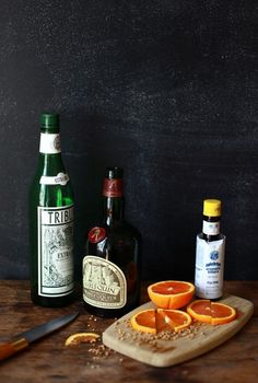 the Morocco | coriander simple syrup, orange liqueur, vermouth, bitters