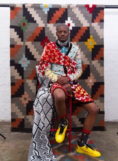 Maxhosa By Laduma: A Unique Expression Of African Style – Suzy Menkes Vogue