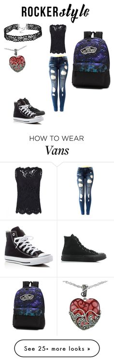 """care free rocker girl"" by angel-roxy-cat on Polyvore featuring…"