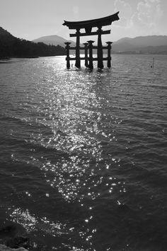 Itsukushima shrine of Miyajima, Japan