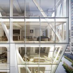 American architect Neil Denari has designed HL23, an apartment building for New York.